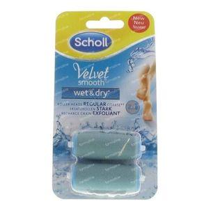 Velvet smooth wet & dry navulling 1 stuk