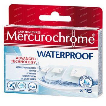 Mercurochrome Pleisters Bad 16 stuks
