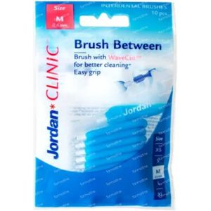 Jordan Clinic Brush Between Medium 0,6mm 10 stuks