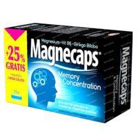 Magnecaps Memory & Concentration Magnesium & Vit B6 & Ginkgo Biloba + 25% GRATIS 35  capsules