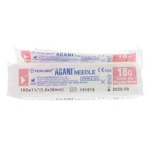 Terumo Agani Aiguille 18g 1 1/2 RB Rose 10 pièces