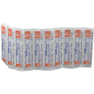 Terumo Agani Aiguille 25g 1 RB Orange 10 pièces