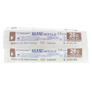 Terumo Agani Naald 26g 1/2 RB Bruin 10 st