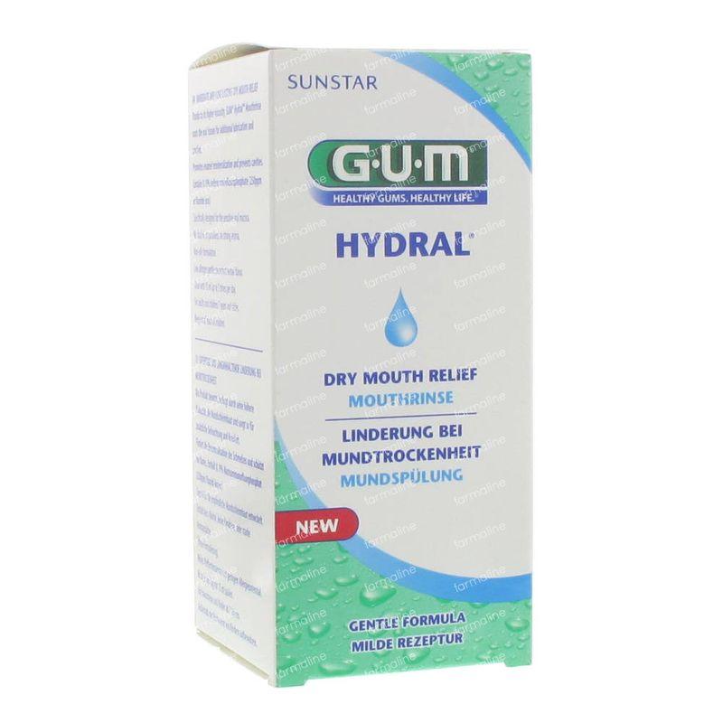 Gum hydral bain de bouche 6030 300 ml commander ici en for Bain de bouche antiseptique maison