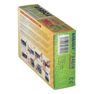 Anabox Pillendoos Voor Kinderen 7 Dagen Regenboog Nederlands 1 St
