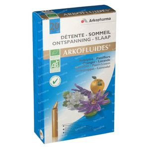 Arkofluide Bio Sommeil Relaxant 20 unidosis