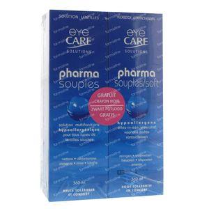 Eye Care Pharma Souple Duo Pack Avec Un Crayon Gratuit 360 ml