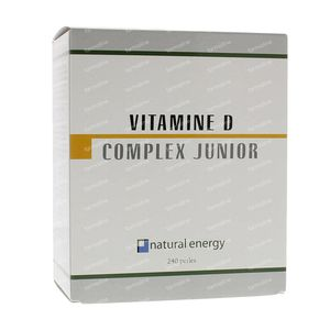 Natural Energy Vitamine D Complex Junior 240 capsules