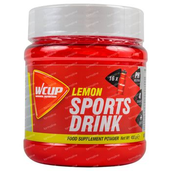 Wcup Sports Drink Citron 480 g