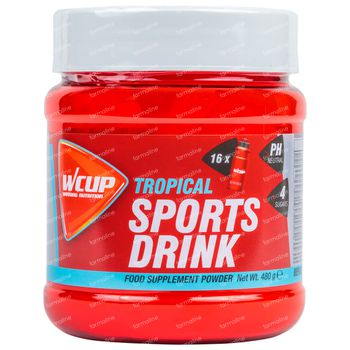 Wcup Sports Drink Tropical 480 g