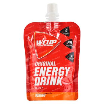 Wcup Energy Drink Original 5+1 GRATUIT 6x80 ml