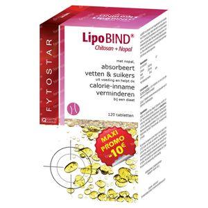 Lipobind chitosan nopal maxi 120 tabletten