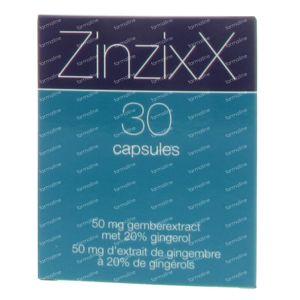 Zinzixx 30 St Capsules