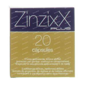 ZinzixX Plus 20 capsules