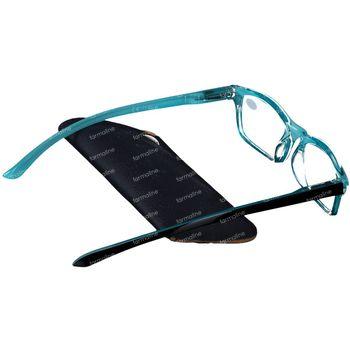 Pharmaglasses Leesbril Round Blauw/Zwart +3.50 1 stuk