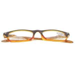 Pharma Glasses Leesbril Comp Bruin/Oranje +1.50 1 stuk