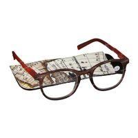 Pharma Glasses Leesbril Comp Bruin/Oranje +2.50 1 st