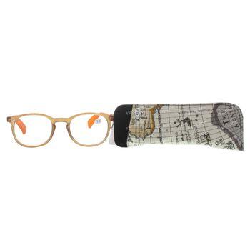Pharma Glasses Leesbril Comp Bruin/Oranje +3.50 1 stuk