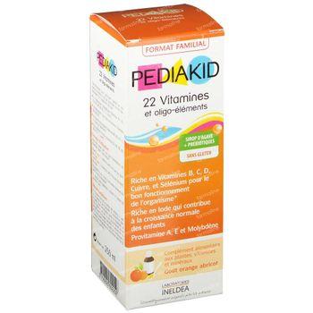 Pediakid 22 Vitamines & Oligo Éléments 250 ml