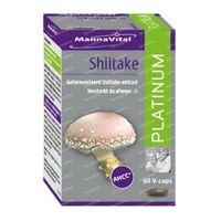 Mannavital Shiitake Platinum 60  capsules