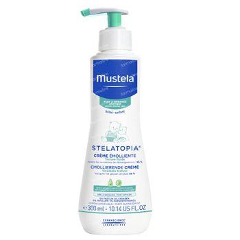 Mustela Stelatopia Crème Emolliente Peau Atopique Nouvelle Formule 300 ml