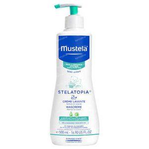 Mustela Stelatopia Wascrème Atopische Huid 500 ml