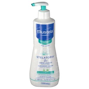 Mustela Stelatopia Cleansing Cream Atopic Skin 500 ml