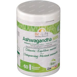Be-Life Ashwagandha 5000 60 stuks Capsules