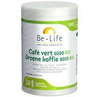 Be-Life Groene Koffie 8000 Bio 50  capsules