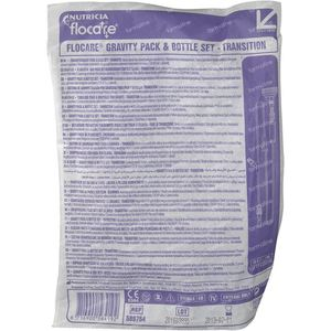 Nutricia Flocare Gravity & Bottle Set Transit 589754 1 pièce
