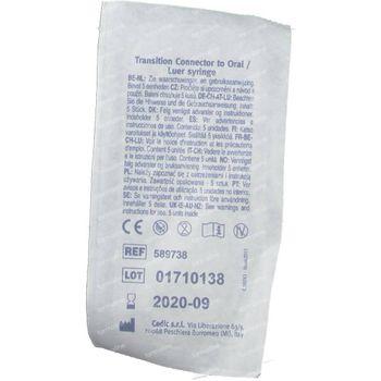 Nutricia Flocare Connect Oral Luer Syr 589738 5 stuks
