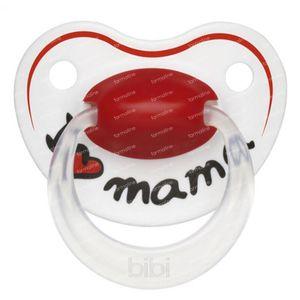 Bibi Fopspeen Happiness Mama 6-16Maanden 1 stuk