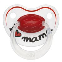 Bibi Pacifier Happiness Mom 6-16Months 1 st