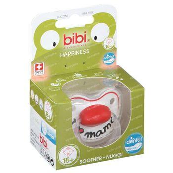 Bibi Fopspeen Happiness Mama Dental 16 Maanden+ 1 stuk