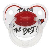 Bibi Schnuller Papa Is The Best 6-16 Monate 1 st