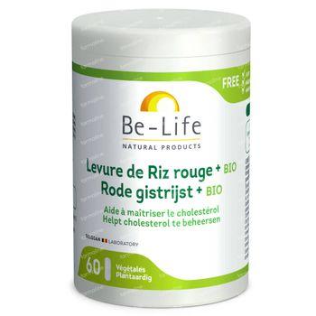 Be-Life Hefe Rotem Reis Bio 60 kapseln