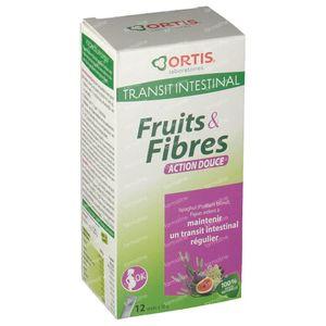Ortis Vruchten + Vezels Milde Werking Stick 120 g