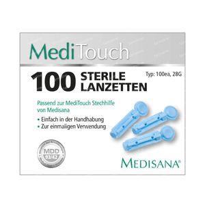 Medisana Meditouch Lancet 100 pièces