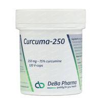 Deba Curcuma 250mg 120  capsules