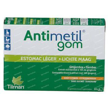 Antimetil Gom 24 comprimés à croquer