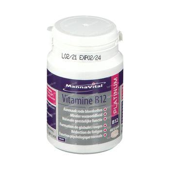Mannavital Vitamine B12 Platinum 60 tabletten