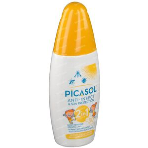 Picasol Protection Solaire & d'Insectes 150 ml spray