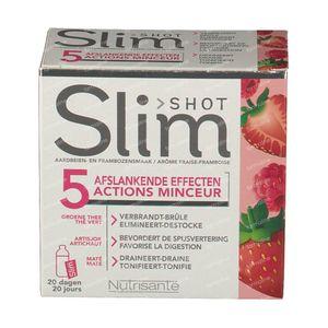 Nutrisanté Slimshot 5 Actions Slimming 20 zakjes