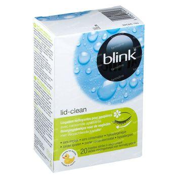 Blink Lid-Clean Tissues 20 stuks
