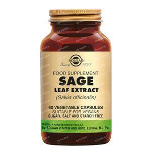 Solgar Sage Leaf Extract 60 capsules