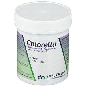 Deba Chlorella 500mg 240 tabletten