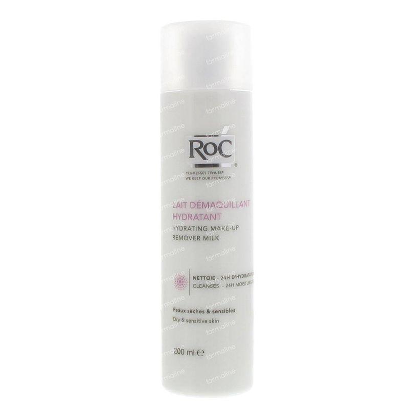 RoC Hydrating Make-Up Remover Milk 200 ml Elancyl Toning Foaming Scrub 5.07 oz