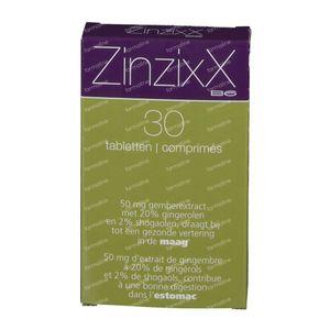 ZinzixX B6 30 tablets