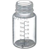 Beldico Wegwerfsaugflasche Plastik Ohne Deckel Universal 37048G 130 ml