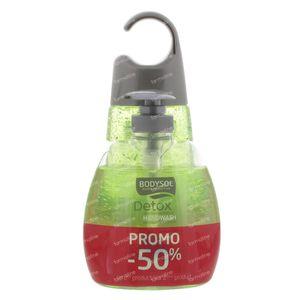 Bodysol Douche + Handwash Detox Promo Duopack Verlaagde Prijs 2 Stuks